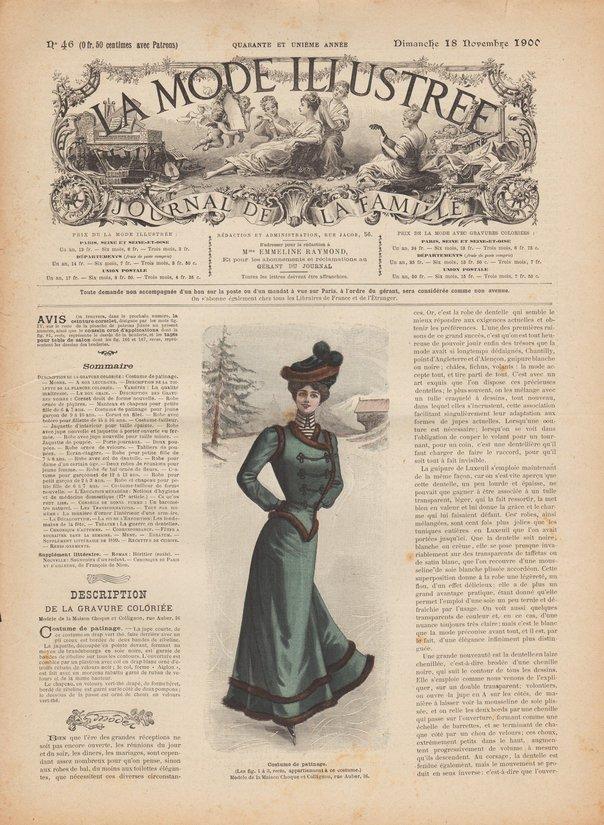 revue mode 1900