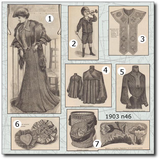 patrons mode illustrée 1903 46