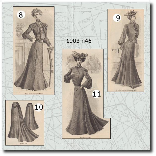 patrons robe 1903