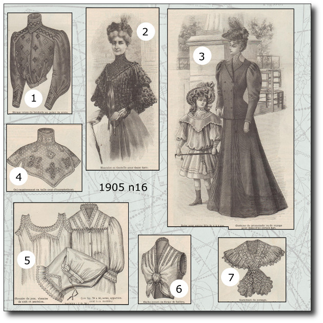 patrons mode 1905