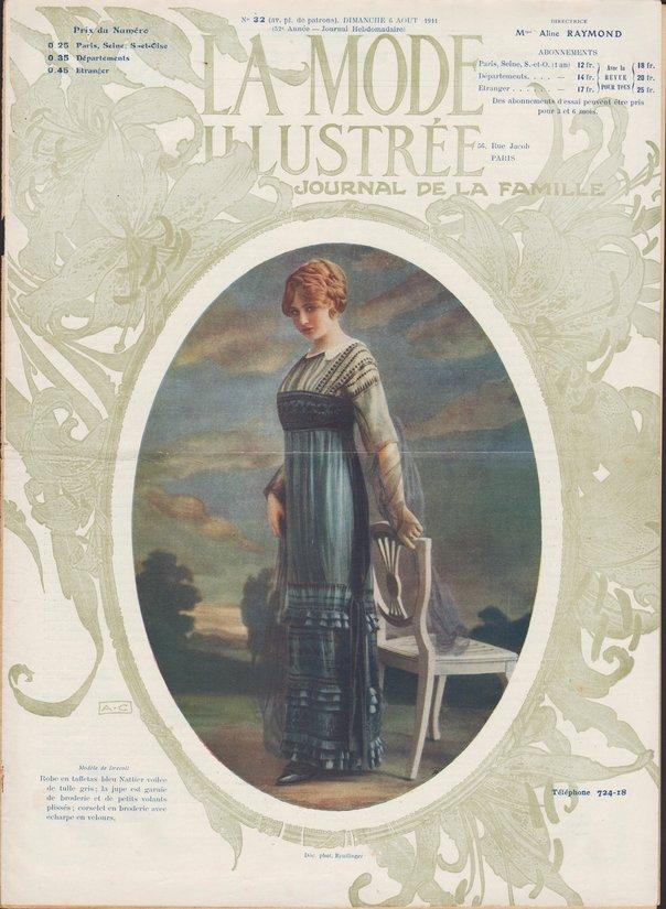 revue mode 1911