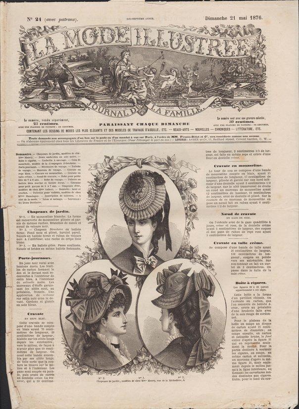 mode illustrée 1876