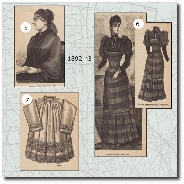 patrons mode 1892