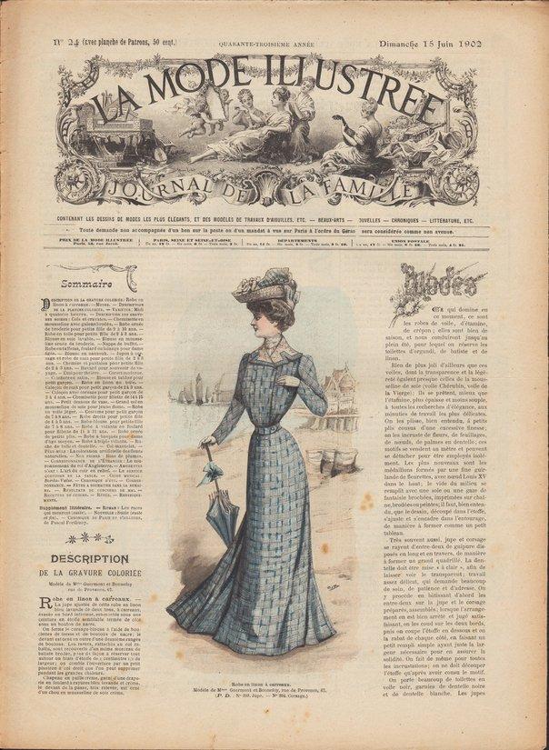 revue mode 1902