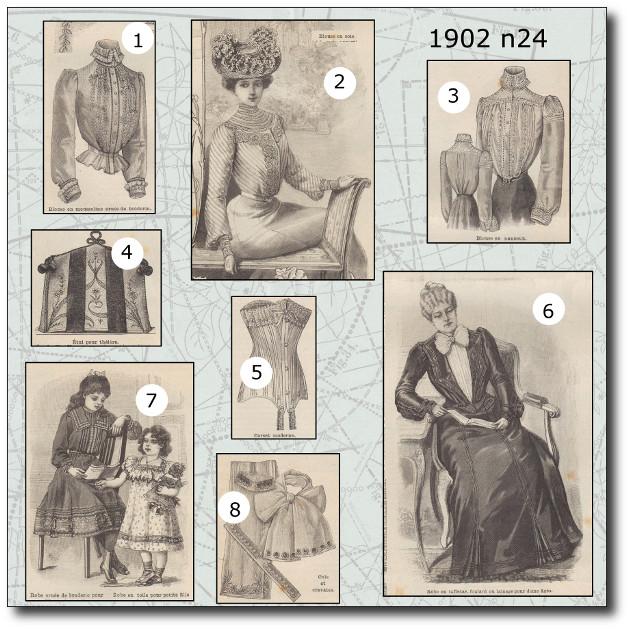 patrons mode 1902