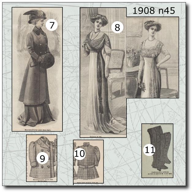patrons robe 1908