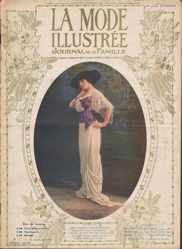 robe en velours 1912