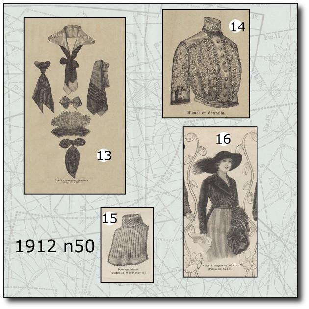 patrons veste 1912