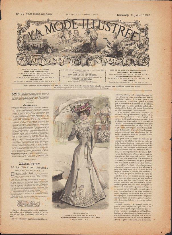 revue de mode 1900-27