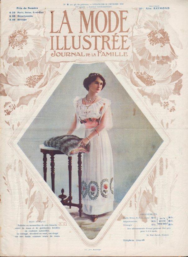 la mode illustrée 1912 N°8