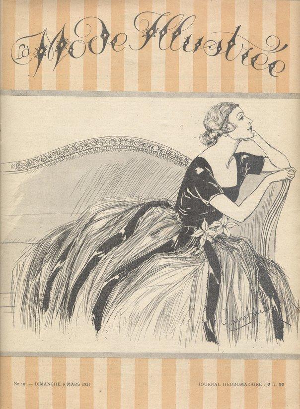 La mode illustrée 1921n10