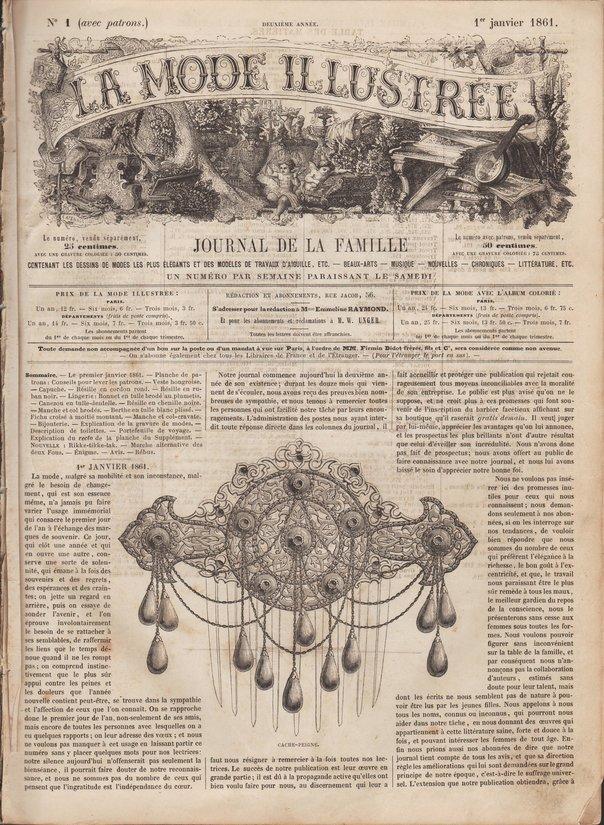 mode illustrée 1861