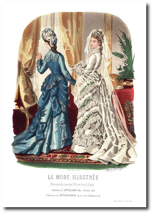 la mariée en 1876