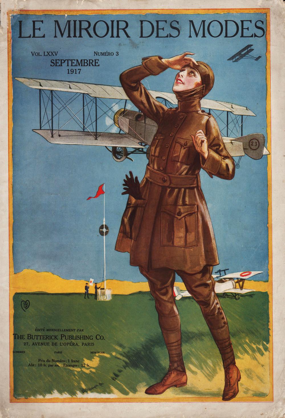 aviatrice 1917