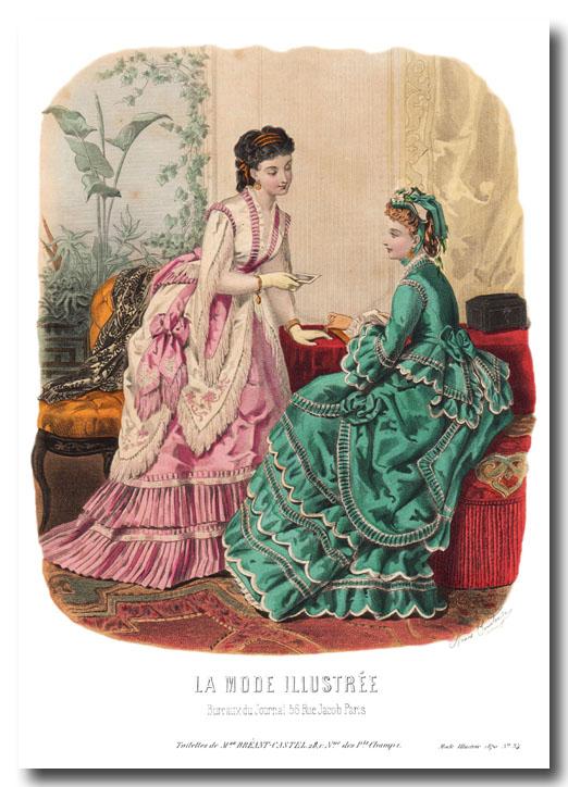 robes de 1870
