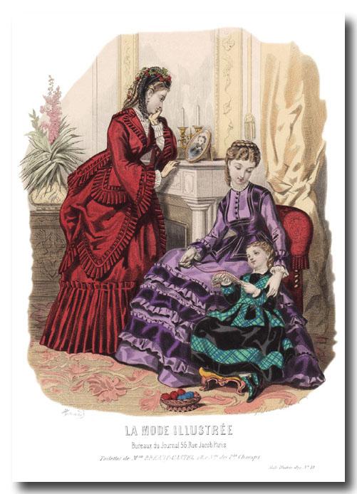 patrons anciens 1870