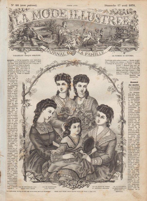 cols en dentelle 1870