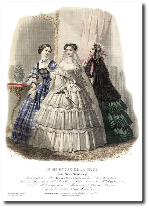 mariée 1855