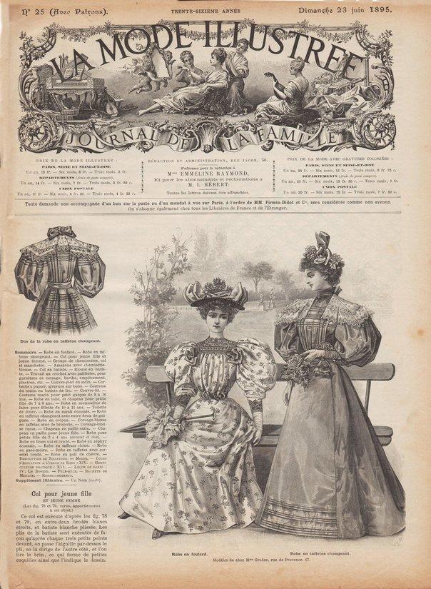 revue de mode de 1895