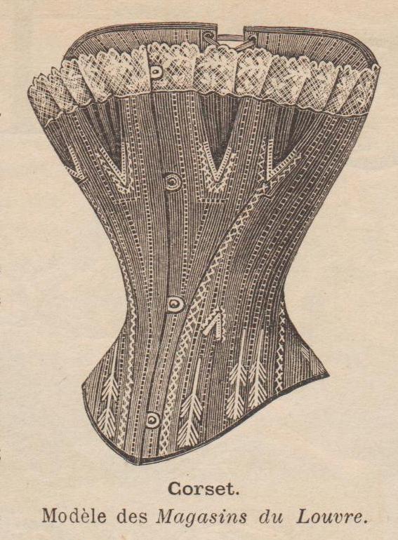 corset 1892