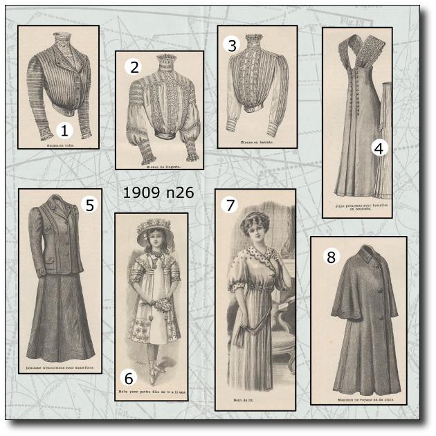 robe princesse 1909