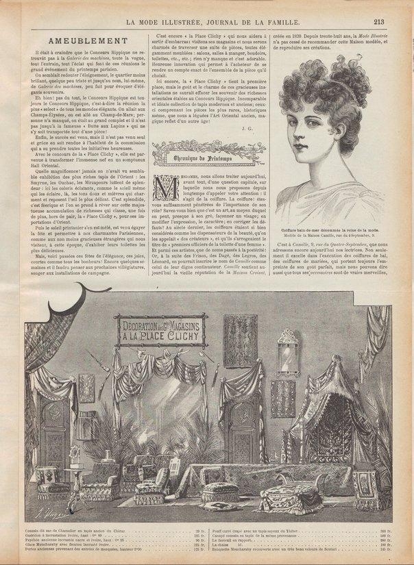 coiffure 1898