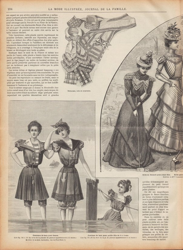 maillots de bain 1898