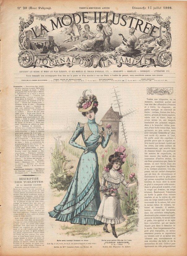 corset et lingerie 1898
