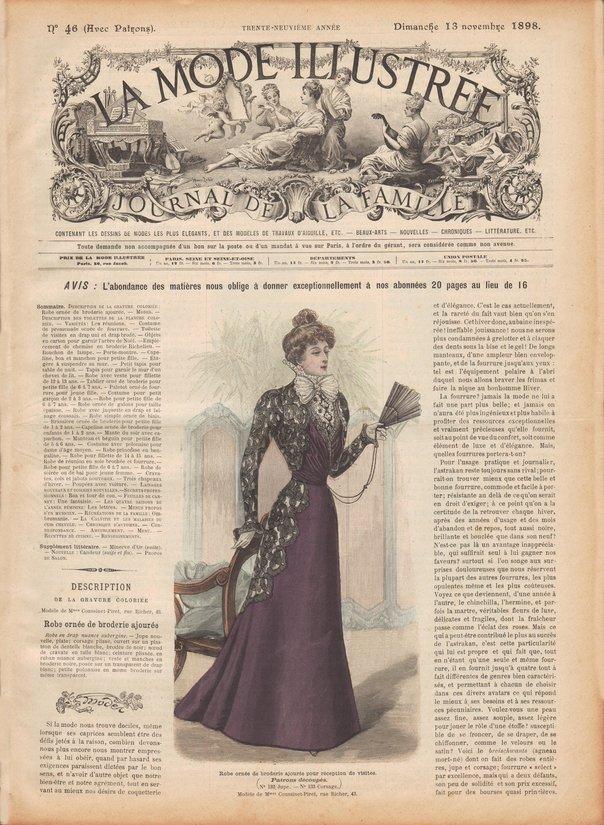revue mode 1898