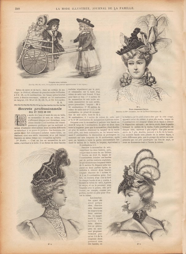 habits poupées 1898