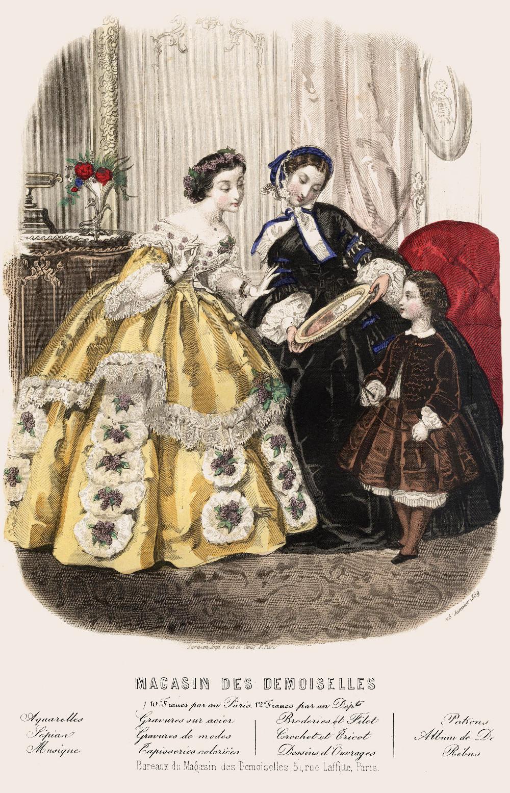1859 le magasin des demoiselles