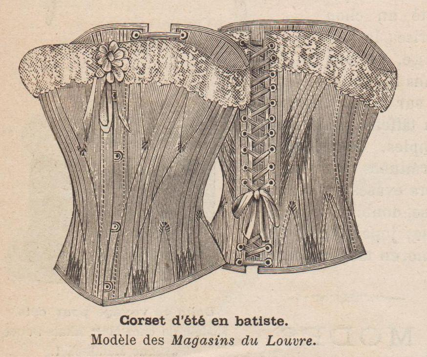 patron corset 1994