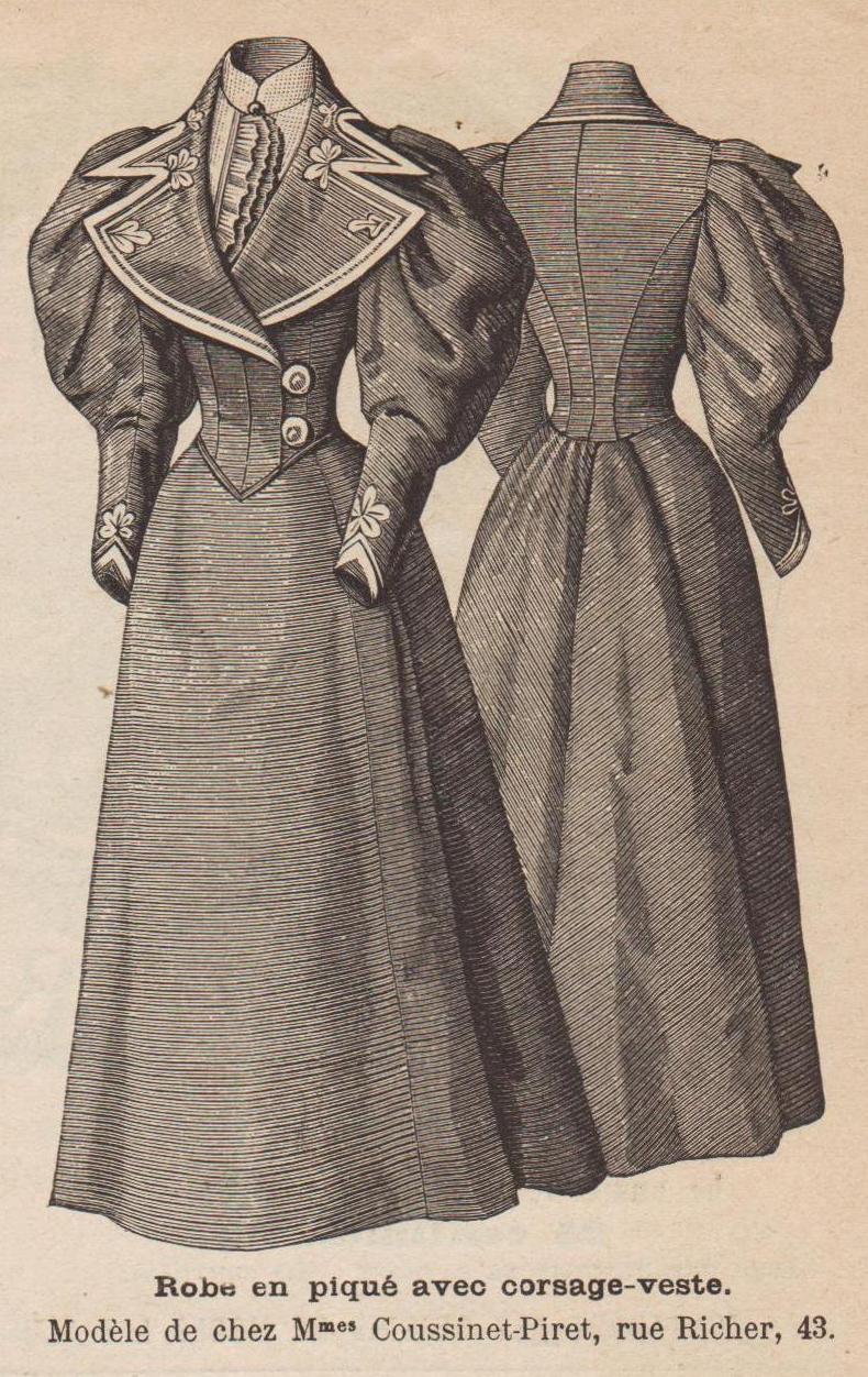 patron robe 1894