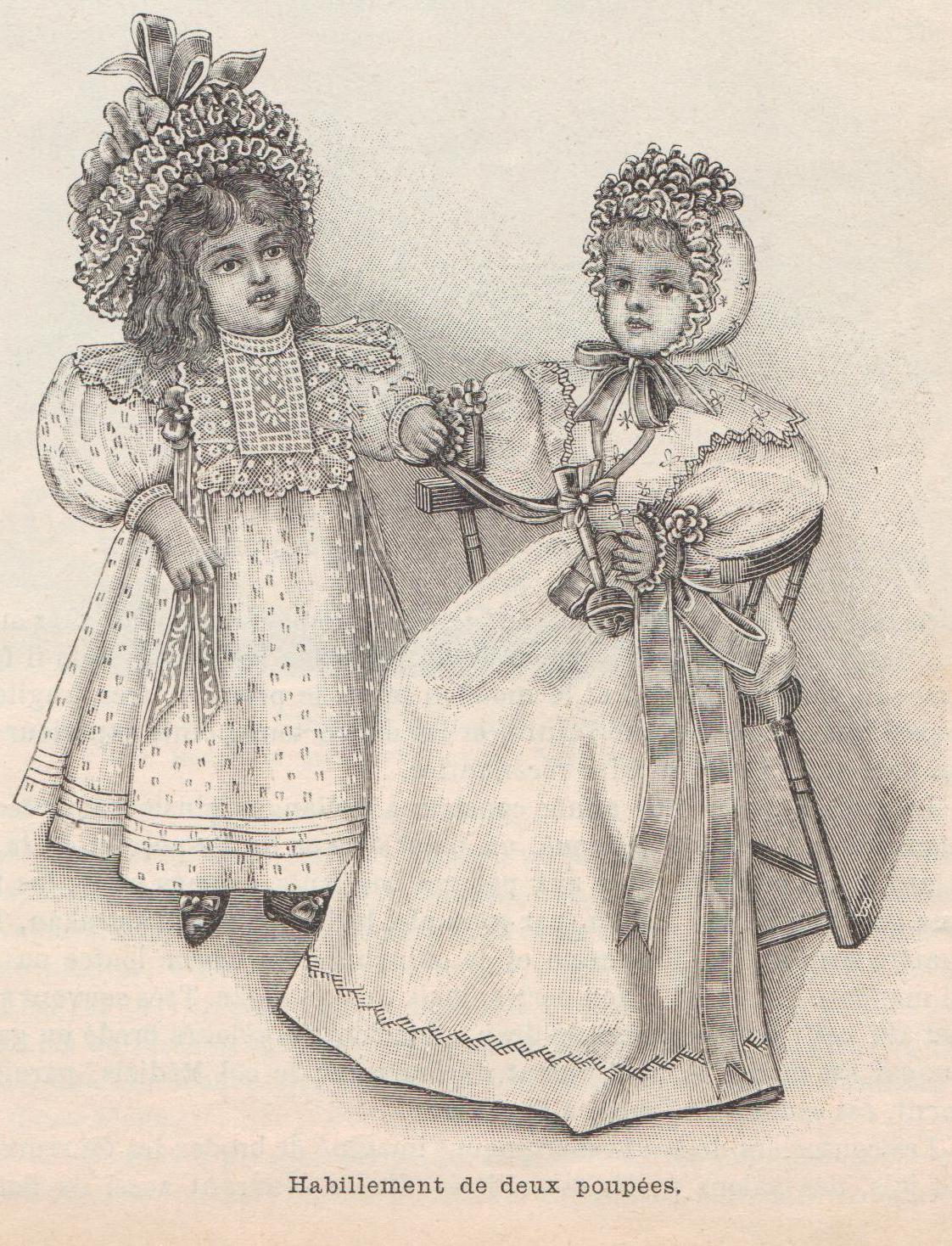 habits de poupées