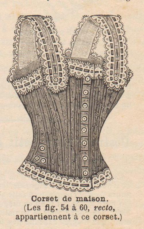 1899 corset