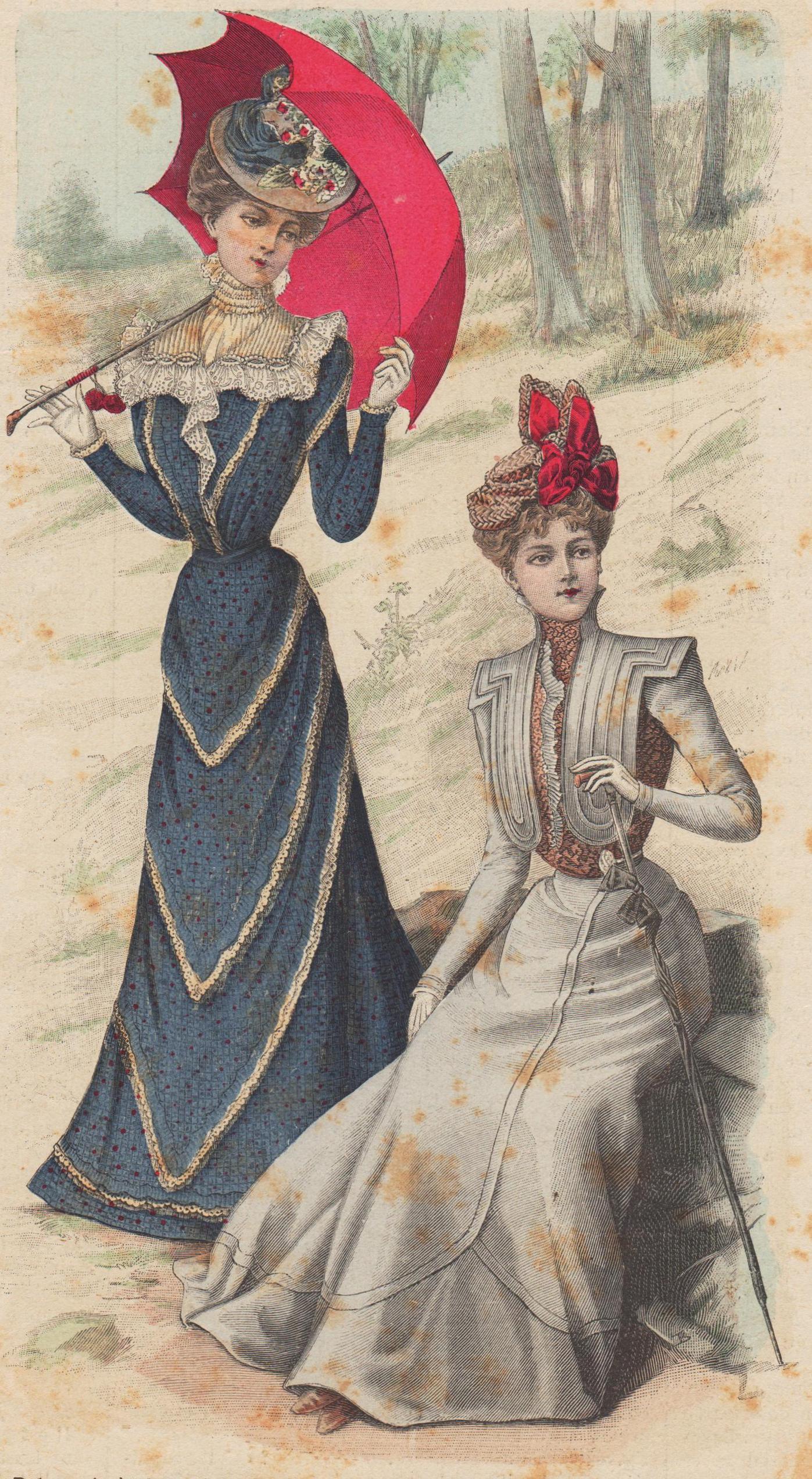 1899 robe en foulard