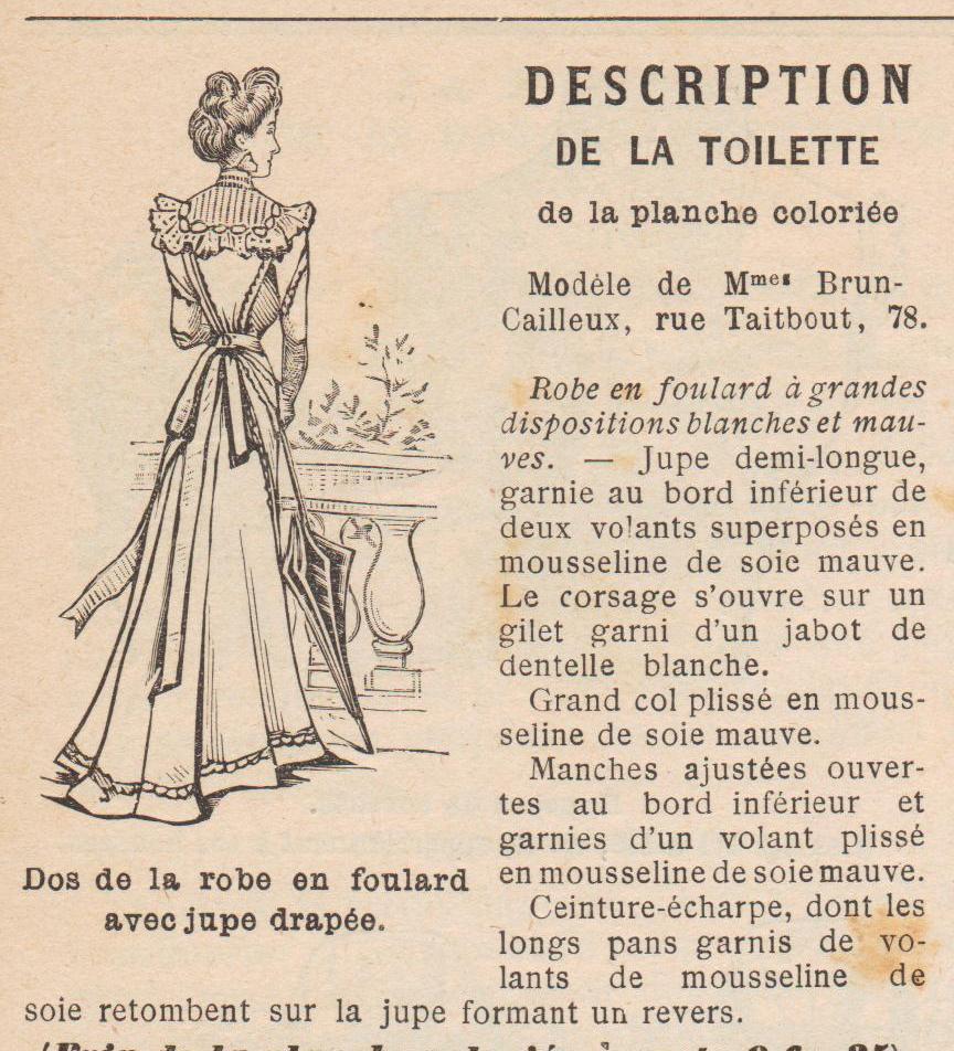 robe 1899