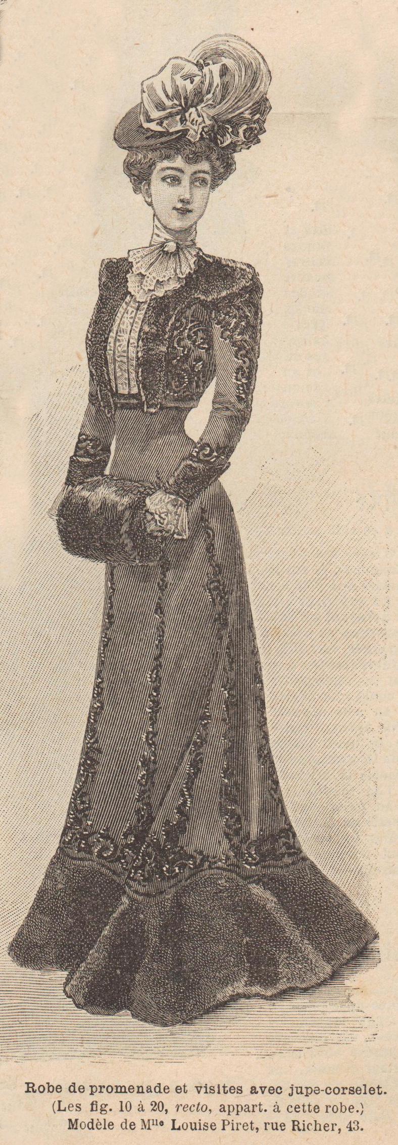 robe de promenade