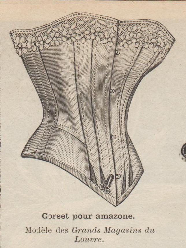 corset amazone