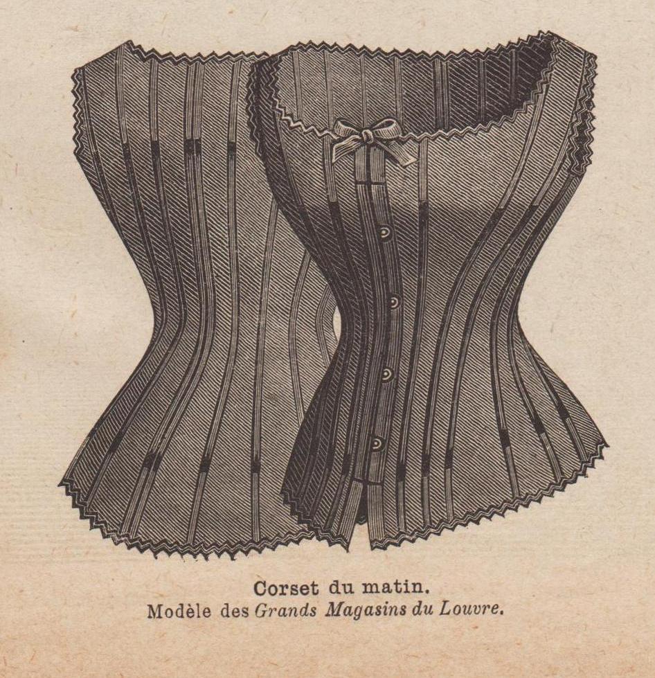 1886 corset