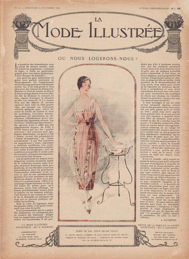 1919 robe de bal