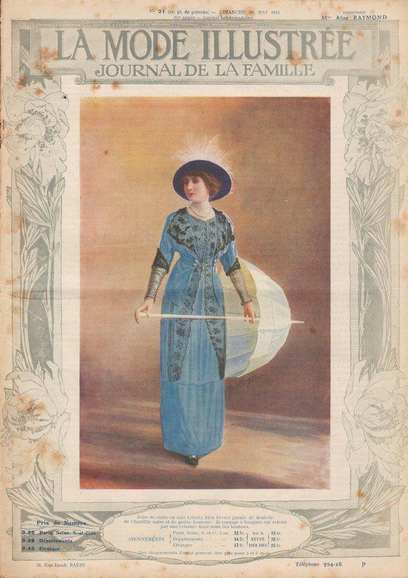 robe ombrelle 1912