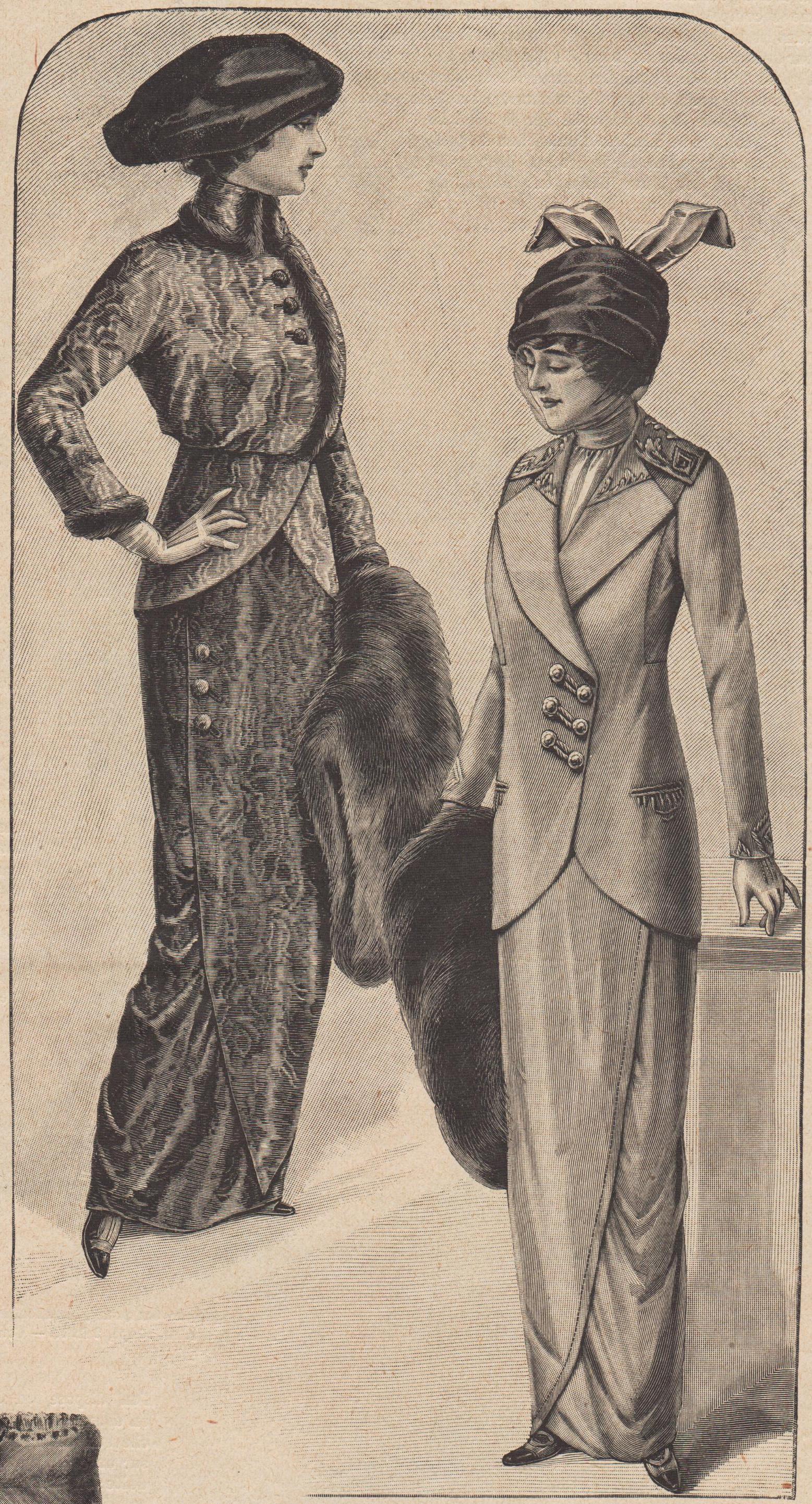 patron robe 1912