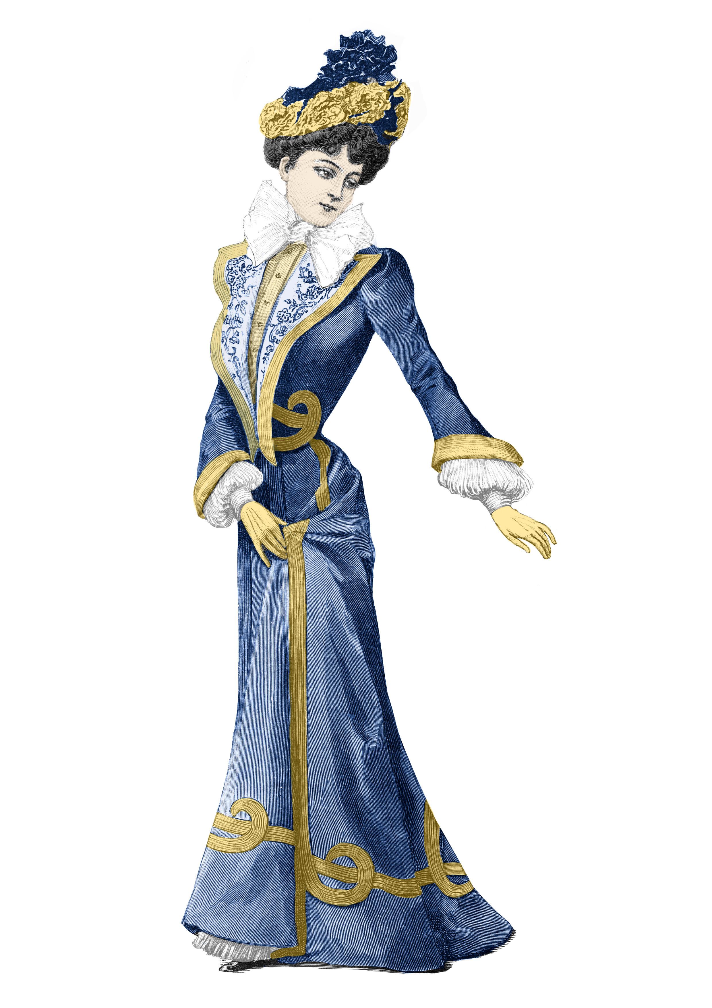 patron robe 1900