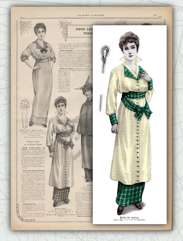 patron robe de casino 1914