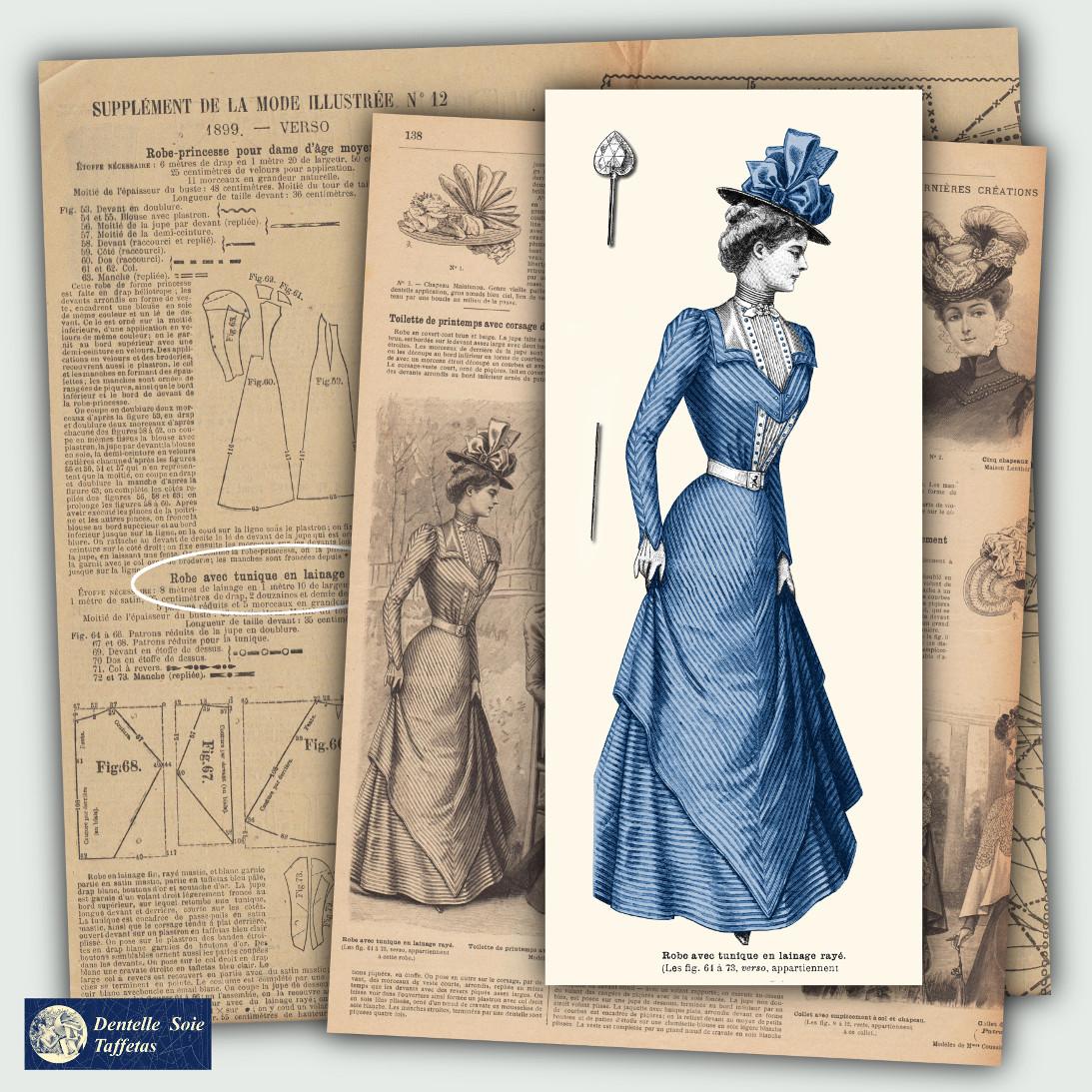 patrons robe 1899