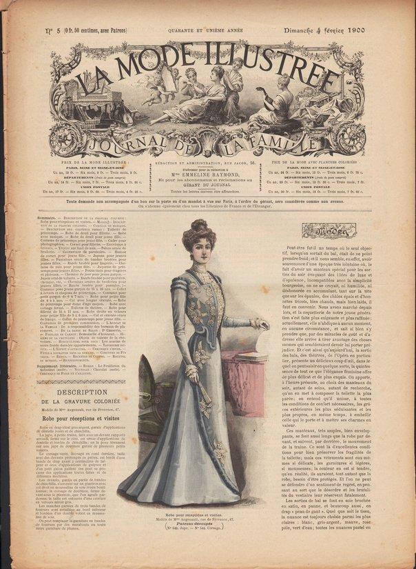 mode ilustrée 1900 5