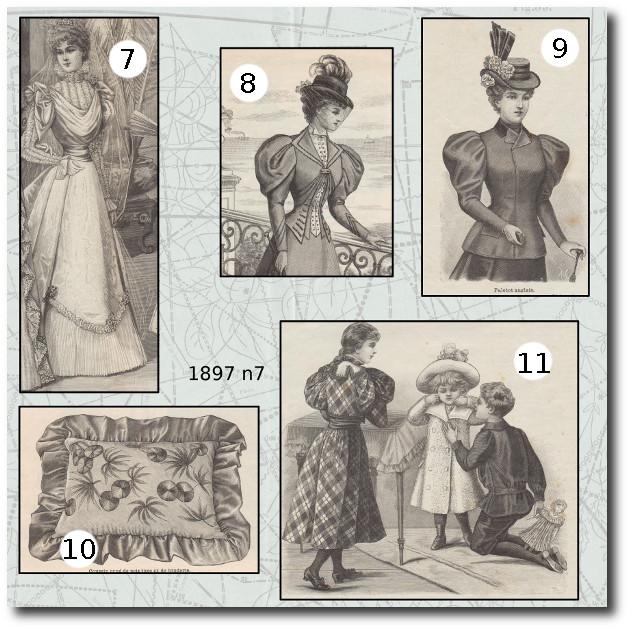 mode illustrée 1897 7 patrons