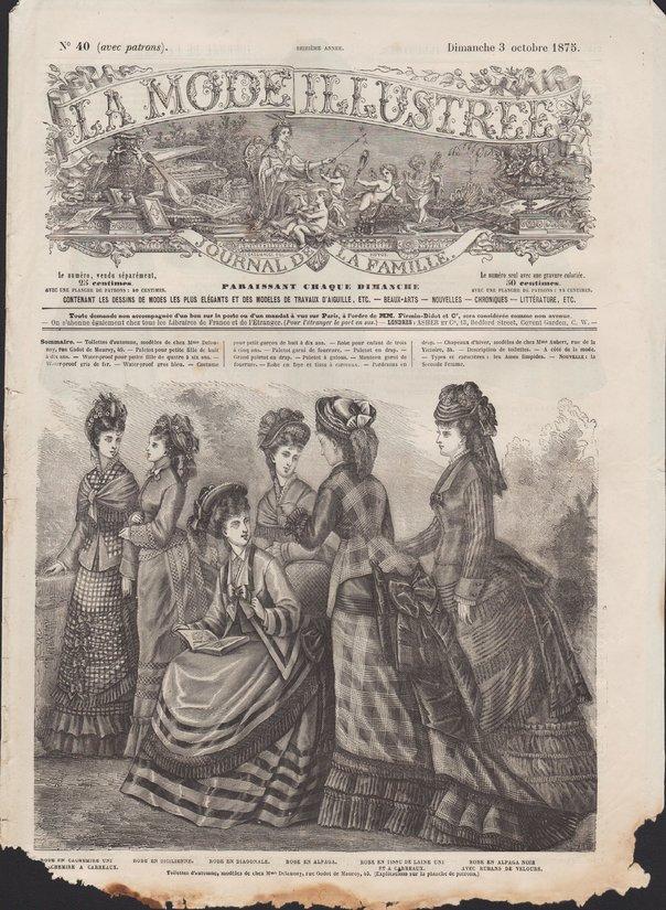 revue mode 1875