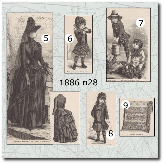 patrons mode 1886